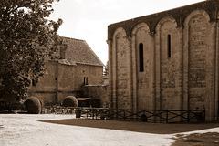 Tour du Trésor de l'abbaye de Nanteuil-en-Vallée