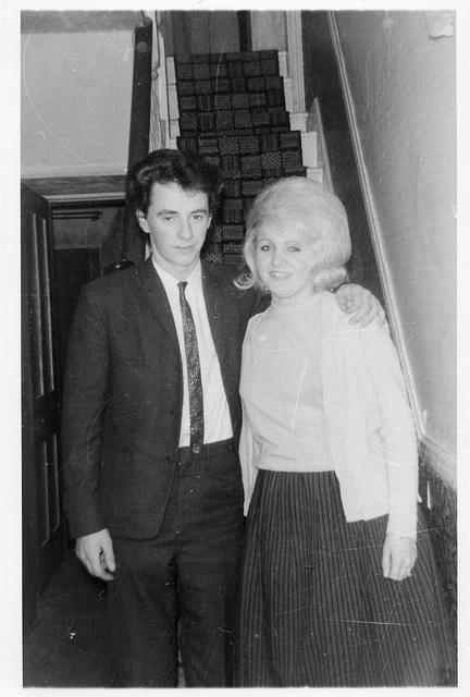 Tim Cornwell & Carol Roberts at 26 Heathfield Road, Bromley c1964
