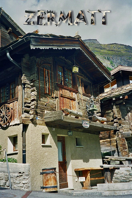 Zermatt, un chalet traditionnel