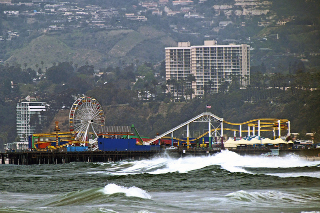 Palisade Park on Santa Monica Pier