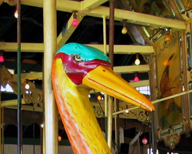 Carousel Stork Head