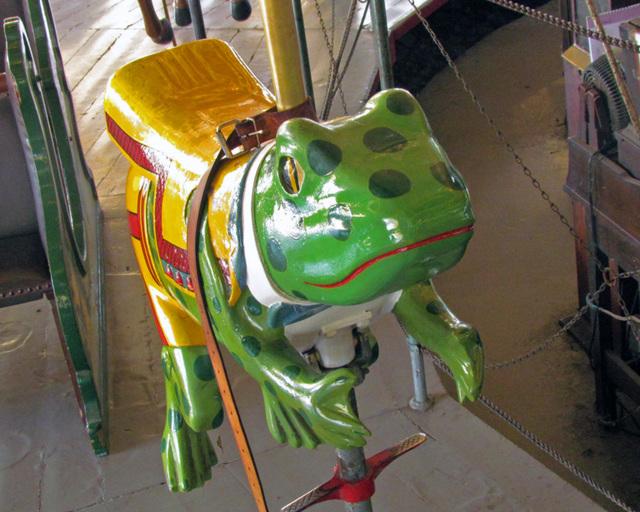 Carousel Frog