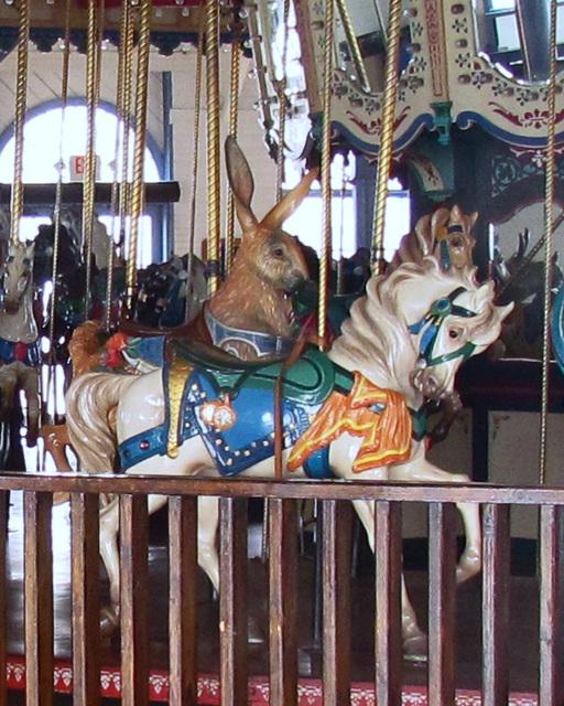 Carousel Pony and Rabbit
