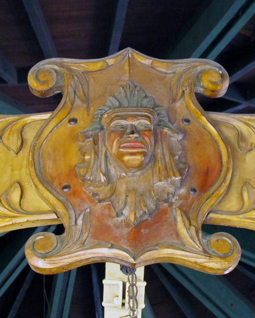 Rounding Board Indian - Balboa Park Carousel