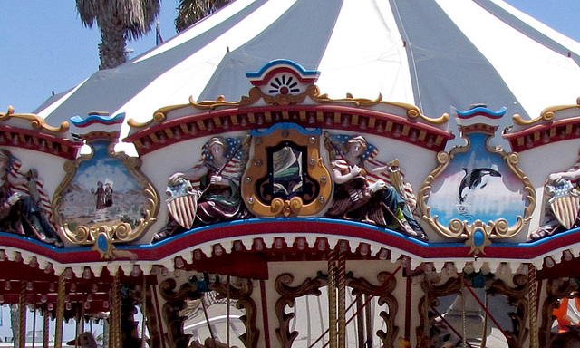 Liberty Carousel Detail