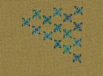 #77 - Woven Cross Stitch