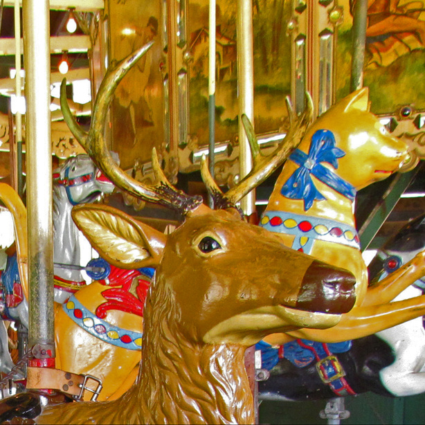 Carousel Deer