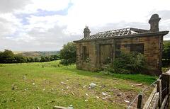 Lodge to Upper Shibden Hall, Halifax, West Yorkshire