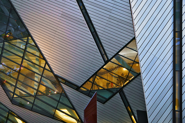 The Crystal – Royal Ontario Museum, Bloor Street, Toronto, Ontario