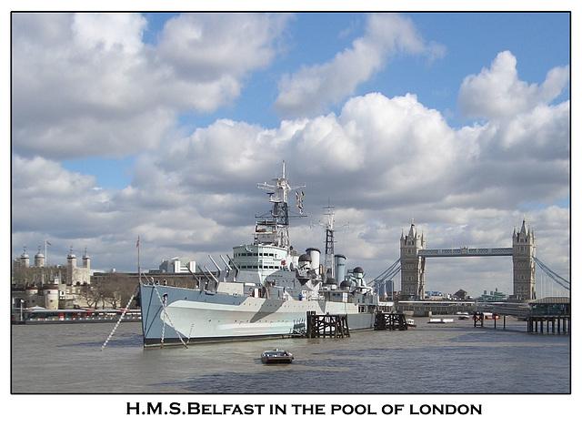 hms belfast, the tower & tower bridge 03.05
