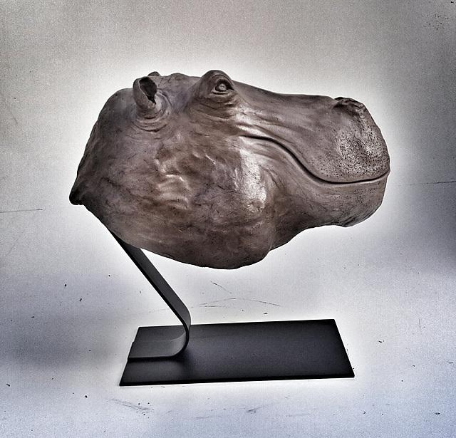 HIPPO Grès patiné L60 H 50 l 45