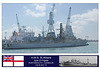 HMS St Albans Portsmouth 22 8 12