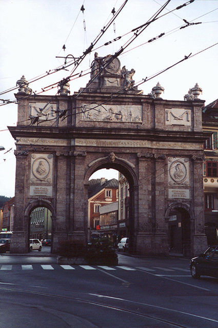 The Triumphal Arch in Innsbruck, 1998