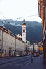 Street in Innsbruck, Austria, in 1998