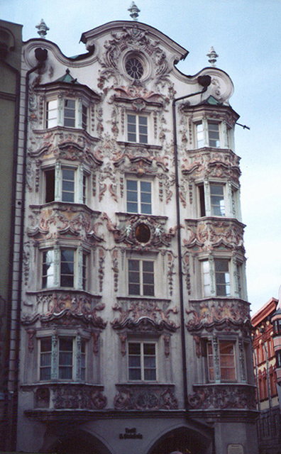 The Baroque Helbing House in Innsbruck, 1998