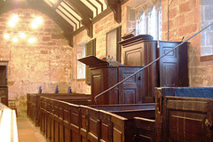 Pulpit, Shotwick Church. Cheshire