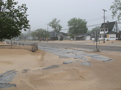 Sand and pavement trouble.