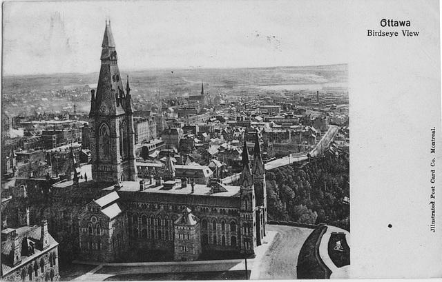 Ottawa - Birdseye View