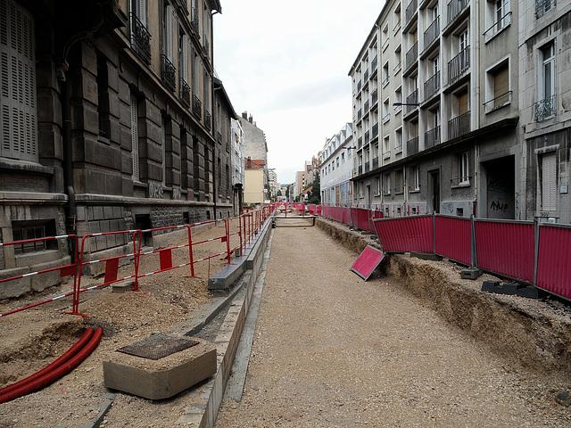 BESANCON: Travaux du tram 2013.06.24 - 11.