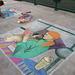 Chalk at Redondo Pier:  3pm