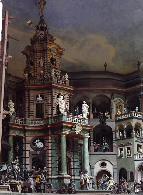 water powered theater (detail)