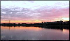 Sunset, Weerwater, Almere Stad