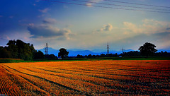 Spätsommer Landschaft