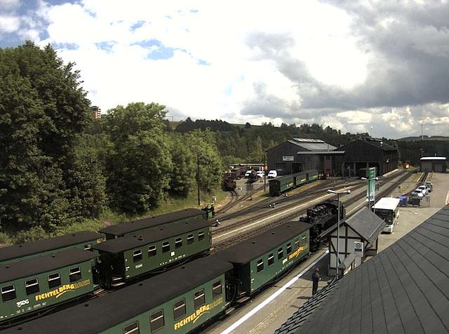 Webcam: Fichtelbergbahn, Oberwiesenthal