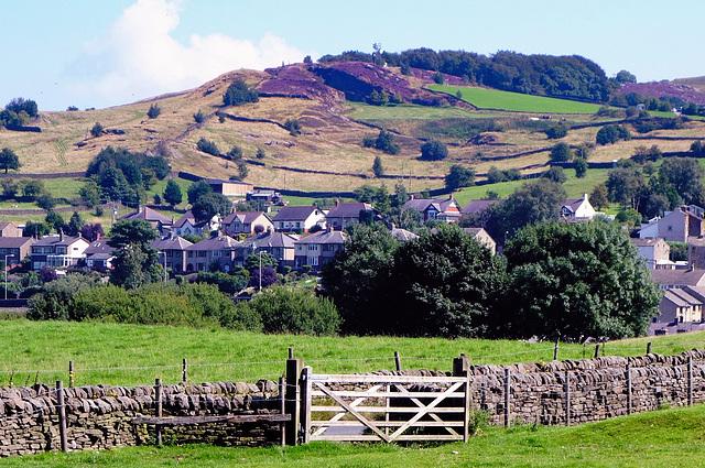 Foulridge and Noyna hill.