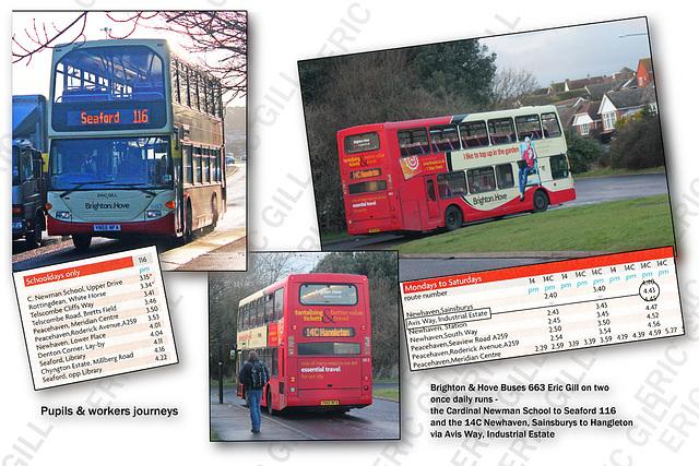 ipernity: Brighton & Hove Buses 663 Eric Gill - Denton Corner - 14 2