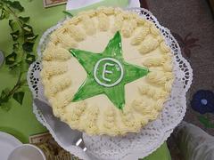 Spezial Torte für Esperantisten - speciala torto por geesperantistoj