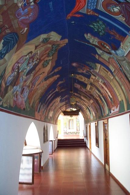 Amazing ceiling in Crete