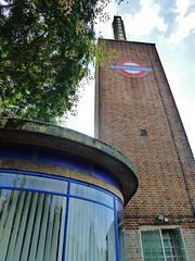 osterley station, hounslow, london