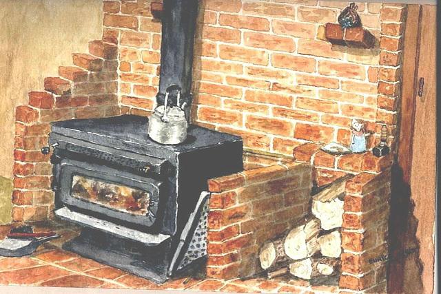 My log burner
