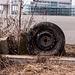 Rusty tire