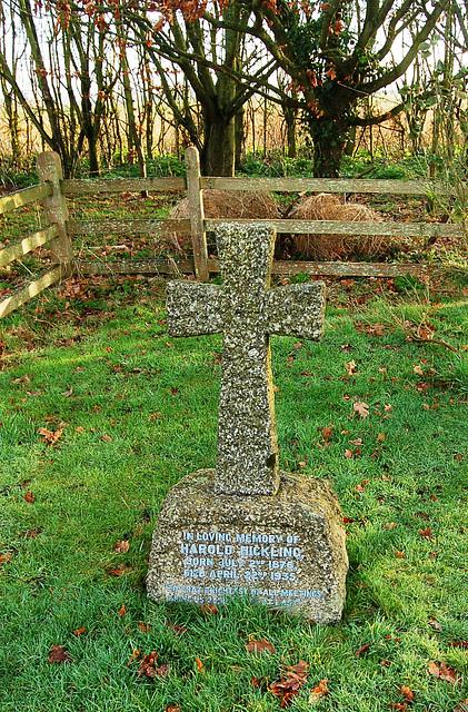 Frostenden Churchyard. Hickling Memorial (2)