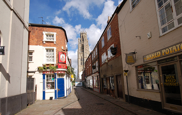 Britannia Pub, Church Street, Boston, Lincolnshire