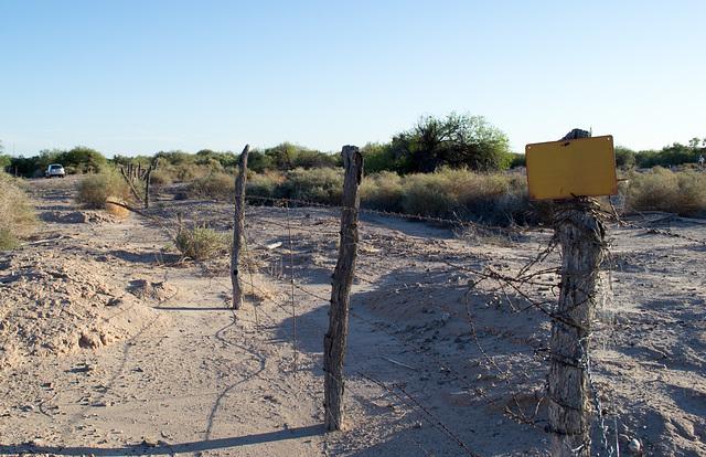 Ehrenberg, AZ: Hualapai concentration camp site (0730)