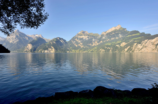 Le lac d'Urnersee...