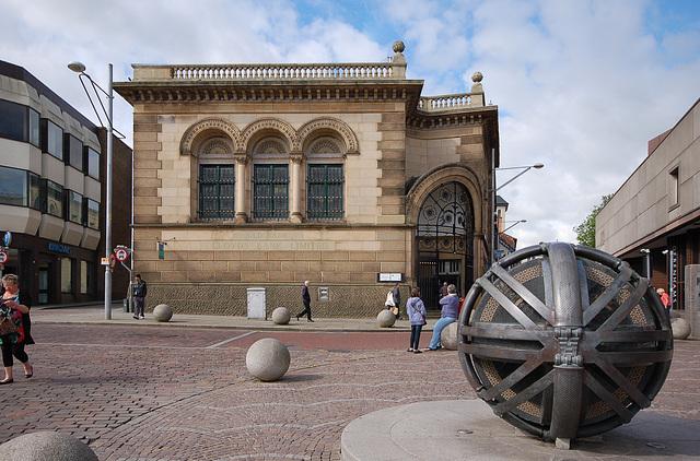 Lloyds Bank, Higher Church Street, Blackburn, Lancashire