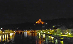Cochem with castle , Germany