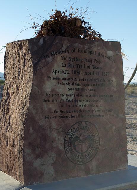 Ehrenberg, AZ: Hualapai concentration camp site (0728)