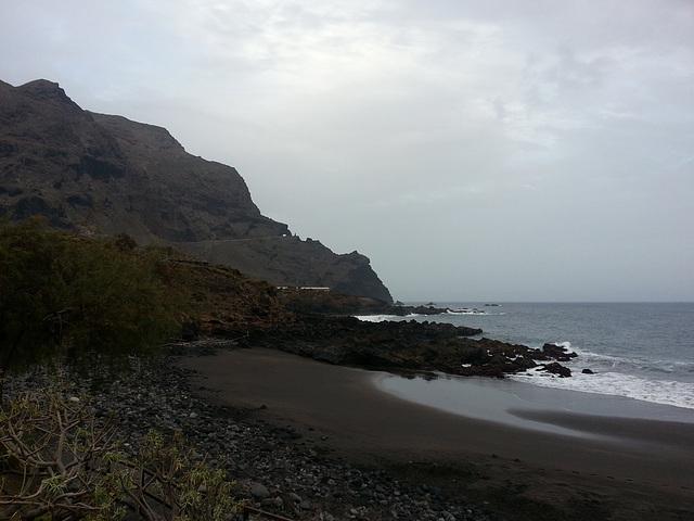 Mi playa a primera hora
