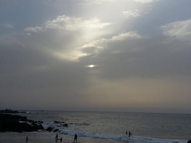 Mi playa casi a última hora