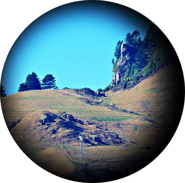 Around the hill
