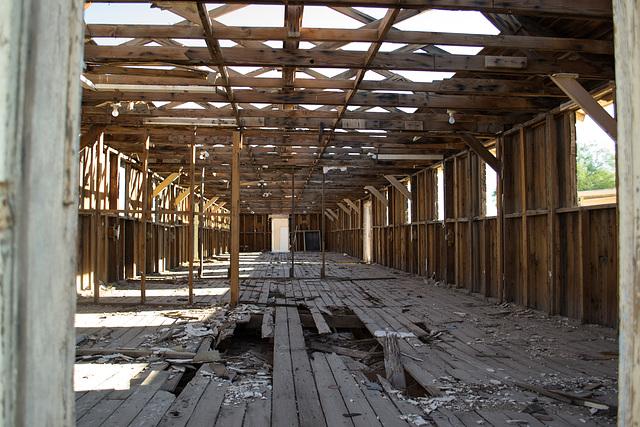 Poston, AZ Japanese Internment Camp barrack (0717)