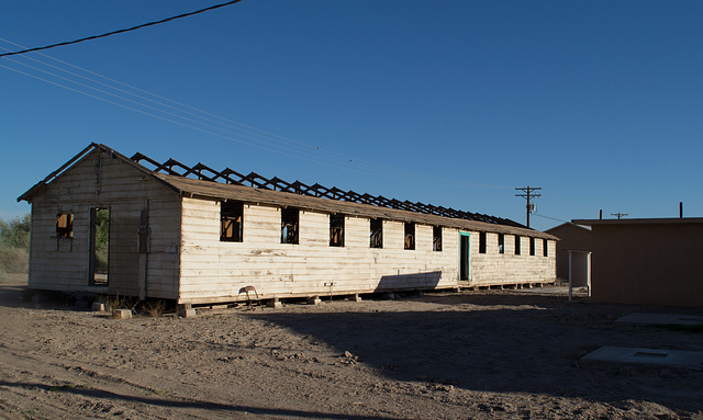 Poston, AZ Japanese Internment Camp barrack (0715)