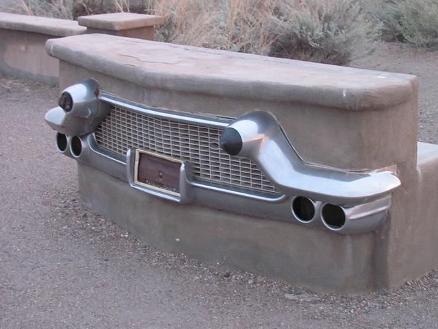 1957 Cadillac Bench