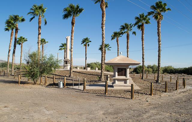 Poston, AZ Japanese Internment Camp monument (0701)