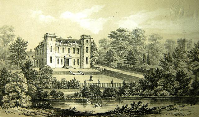Etwall Hall, Derbyshire (demolished)